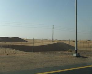 ドバイ・アブダビ旅行(デザートサファリ(砂漠の体験))2012年6月