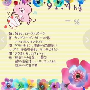 ダイエット30日目