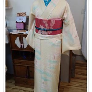 kimono㐂彩さんに納品しました