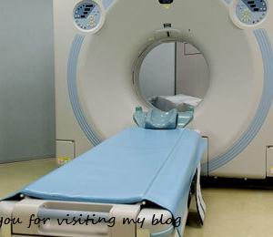 MRI検査を受けました、途中で何度か「「出して!」とブザーを押しそうになりましたが、なんとか