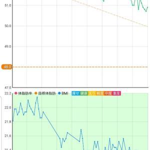 11月17日 体重50.9キロ。