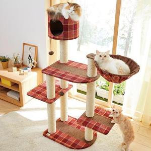 猫ちゃんが飛び乗っても抜群の安定感!「ロイヤルショコラタワー」