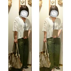 yuniリネンシャツ+UNIQLOパンツでお仕事へ