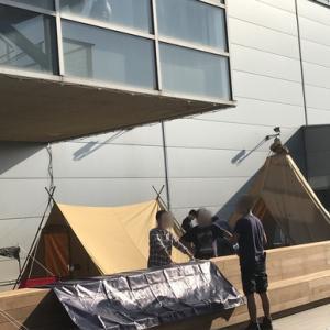 『tent-Mark DESIGNS』展示会をのぞいたら…