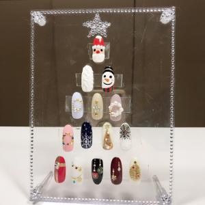 今年のクリスマスデザインはどれにしようかな^_^