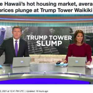 Trump Slumpって、ダジャレですか?