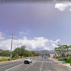 ハワイの道を行く その39 カパフル通り(カパフル・アベニュー)その3
