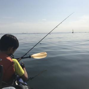 2019/11 湾奥タチウオ(カヤック)。