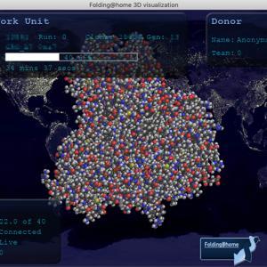 自宅のパソコンを使って出来る新型コロナウイルスの解析支援「Folding@home」