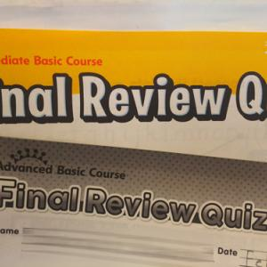「Final Review Quiz」Weekを実施しました!
