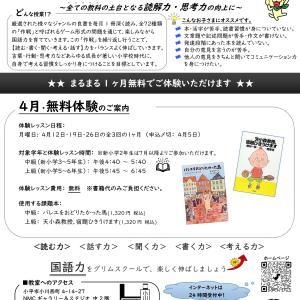 ベネッセ グリムスクール・チラシ(2020年11月7日発行)
