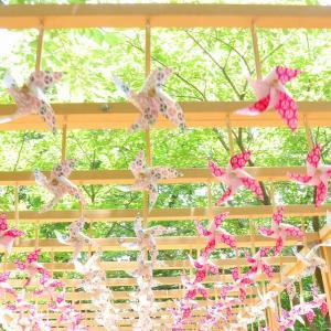 自粛中の神社仏閣巡り【風車と風鈴】