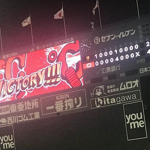 【試合結果】高橋昴也が6回2失点の好投で初勝利!野間の3ランで菅野をノックアウト!C4-2G