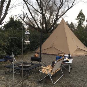 2020年始まりは、有野実苑オートキャンプ場(キャンプレポNo.46)