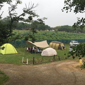 「森のまきばオートキャンプ場」でグルキャン(キャンプレポNo.38)