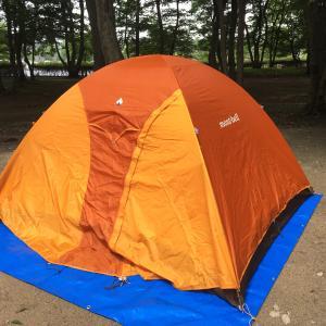 またまたテントを購入(モンベルテント)