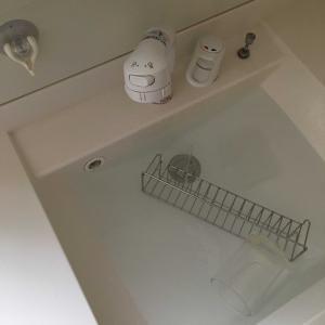 洗面所のお掃除