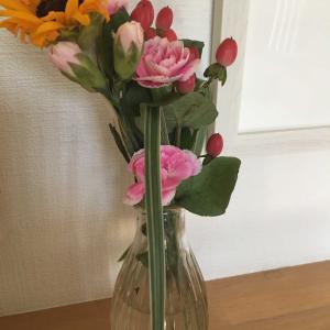 お花が届きました。