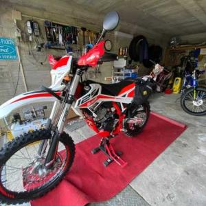 Stay at Garage with BETA RR4T 125LC
