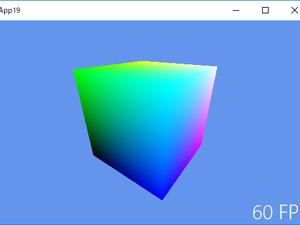 《その427》DirectX11アプリ(ユニバーサルWindows)