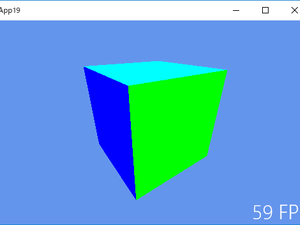 《その428》立方体の各面を異なる単色で塗りつぶす