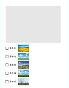 《その423》FlipView を利用した画像表示