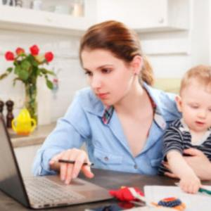Q&A*子供が家にいてもサポートをお願いできますか?