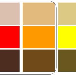 """""""インテリアの色彩計画で重要なのは、木の色のベースを見極めること"""""""