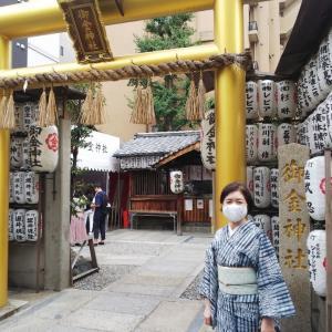 御金神社と伏見稲荷