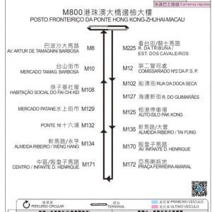 香港4日目⑮ バスでマカオへ⑩香港国際空港への帰り方^0^