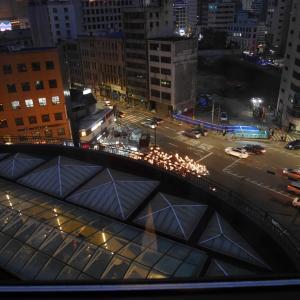 ソウル3日目⑧ 明洞 想定外の免活と夜景いろいろ^0^
