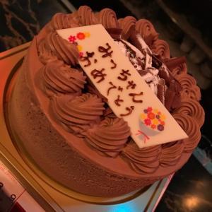 誕生日ケーキ^^