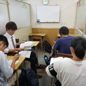 中学の試験がだいたい終了。うまくいった子も今一だった子も、次に向かいましょう