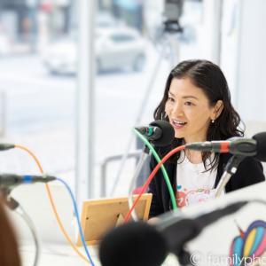 話題の中学生、滝本妃さん&お母様とラジオ番組収録♪