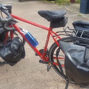 いよいよ240キロのサイクリングの旅へ。 その前にまずは100キロ予行練習!!