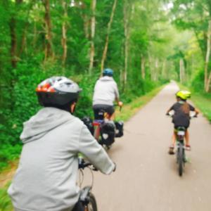 平日の昼間から主人とサイクリングデート♪