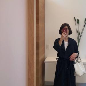 ちょっとお高いお洋服の話と、シャツワンピースコーデ。