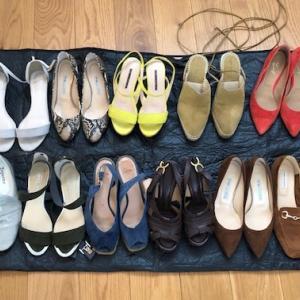 春夏靴の整理