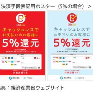 【キャッシュレス決済ポイント還元】2019年10月1日開始!おすすめのカードご紹介(^ー^)