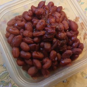 金時豆を煮る   保存中