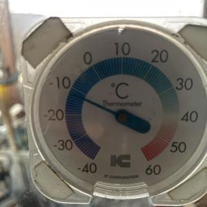 寒いけど暑い