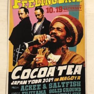 本日 COCOA TEA JAPAN TOUR 2019 IN NAGOYA @VIO