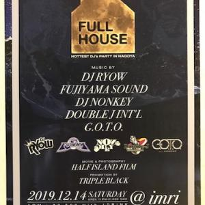2019.12.14(SAT) FULL HOUSE @imri
