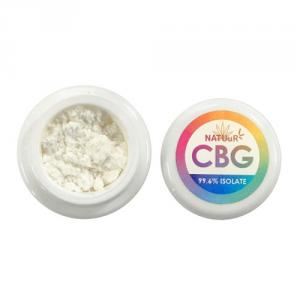 [NATUuR] CBG ISOLATE新入荷!