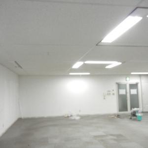 天井パウダー塗装 甲府市の施工 点検口の汚れにキレイに