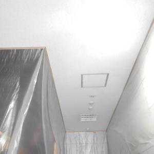 シーリングマジック天井塗装 新横浜の現場