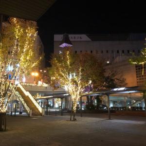 ★西鉄久留米駅のイルミネーション2019★セトゥス♪♪