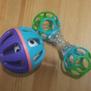 生後5ヵ月、最近のお気に入りのおもちゃは…