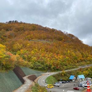 白山ホワイトロードの紅葉と白川郷散歩