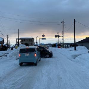 大雪ドカ雪 4  3年前と比べて